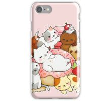 Neko Atsume sweet cats iPhone Case/Skin