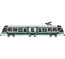 Streetcar - The Kids' Picture Show - Train/Subway - 8-Bit Photographic Print