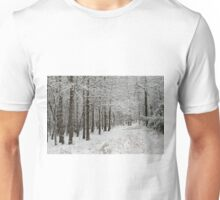 A Hike In The Winter Woods Unisex T-Shirt
