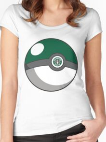 Starbucks Pokéball Women's Fitted Scoop T-Shirt