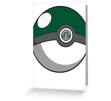 Starbucks Pokéball Greeting Card