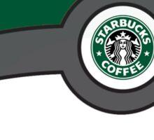 Starbucks Pokéball Sticker