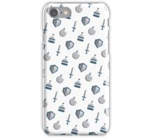 RPG Inventory Items (Pattern) iPhone Case/Skin