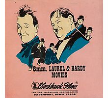 8mm. LAUREL & HARDY MOVIES Photographic Print