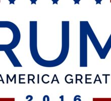 Donald Trump - Make America Great Again Sticker