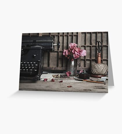 Words Are Not Enough Greeting Card