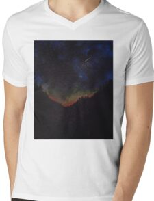 Serenity At Dusk Mens V-Neck T-Shirt