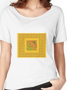 Abstract 0032b Women's Relaxed Fit T-Shirt