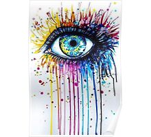 Psychedelic eye Poster