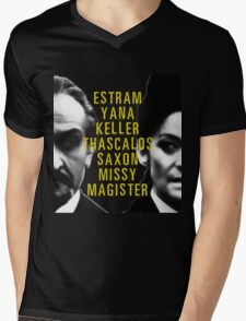 I Am The Master and You Will Obey Me Mens V-Neck T-Shirt