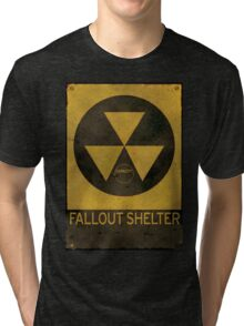 Fallout Shelter - Old & Busted! Tri-blend T-Shirt