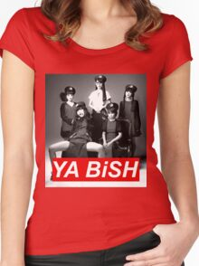 YA BiSH Parody Women's Fitted Scoop T-Shirt