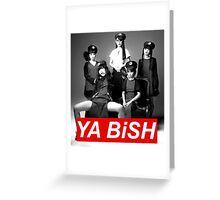 YA BiSH Parody Greeting Card
