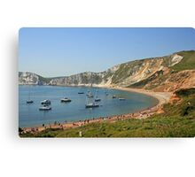 Worbarrow Bay Canvas Print