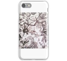 the Artist Adamo Fractured Kaleidoscope Resist Hand Painted Acrylic Digitally enhanced  iPhone Case/Skin