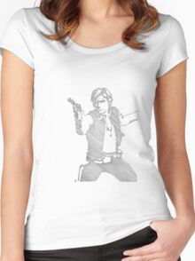 Han S0l0 Women's Fitted Scoop T-Shirt