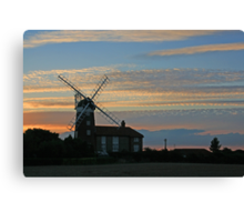 Weybourne Tower Mill Canvas Print