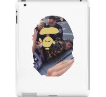 BAPE FACE - Ymbape Arrested  iPad Case/Skin