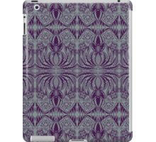 two-tone art nouveau flowers iPad Case/Skin