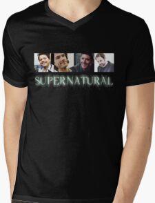Supernatural Boys Mens V-Neck T-Shirt