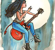 The Gibson SG Witch by sjanemills