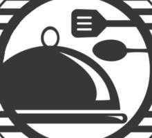 Vegetarian Heart Mind and Soul Food Sticker