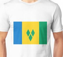 St. Vincent And The Grenadines Flag Unisex T-Shirt