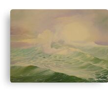 Ocean by Carrie Theroux Canvas Print