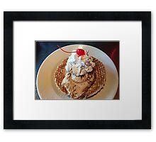 Gelato or Ice Cream Anyone? Framed Print