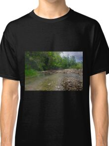 Paradise Lagoon (oil painting version) Classic T-Shirt