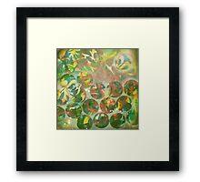 """the Artist Adamo """"Raw Conceptual Airbrush exercise"""" circa 2012 Framed Print"""