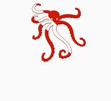 Octopus Scuba Diver Silhouette Unisex T-Shirt