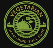 Vegetarian Heart Mind and Soul Food  Kids Clothes