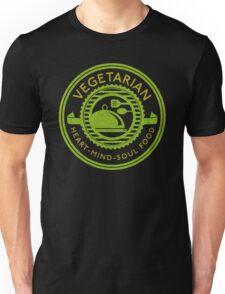 Vegetarian Heart Mind and Soul Food  Unisex T-Shirt
