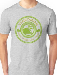 Vegetarian Heart Mind and Soul Food  Unisex T-Shirt