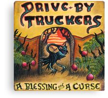 DRIVE BY TRUCKERS ALBUMS 2 Canvas Print