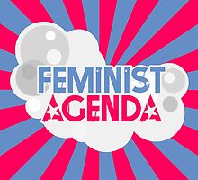 Feminist Agenda - Blue and Pink by TheVerse