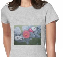 Eucalyptus Macrocarpa Womens Fitted T-Shirt
