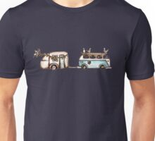 Let the waves take you on a journey Unisex T-Shirt