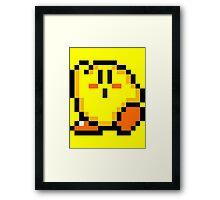 Kirby (Yellow) Framed Print