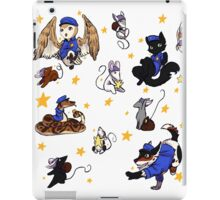 Star cops and Star Thieves iPad Case/Skin