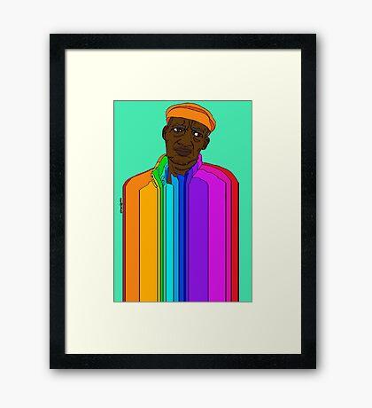 Coloured Man Framed Print