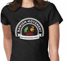 Vegan Vegetarian Rawish Movement Womens Fitted T-Shirt