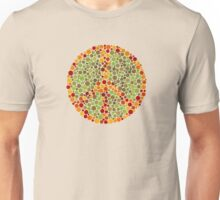 Color Blind Peace Sign Unisex T-Shirt