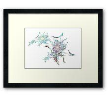 Fractal Art Framed Print
