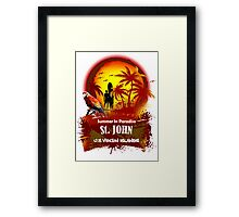 Beach Time...Beer Time...Summer Time Framed Print