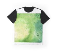 Watercolor Map of Pennsylvania, USA in Green - Giclee Print My Own Watercolor Painting Graphic T-Shirt