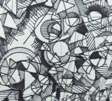 "The Artist Adamo ""RAW Coceptual Sharpie doodle"" Sticker"