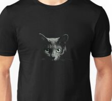 A Black Cat Art T-Shirt Unisex T-Shirt