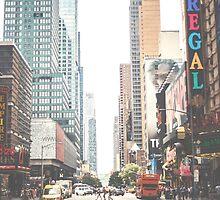 NYC Street by Marina Totino